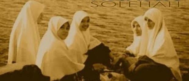 Perhiasan terbaik dunia adalah Wanita Solehah