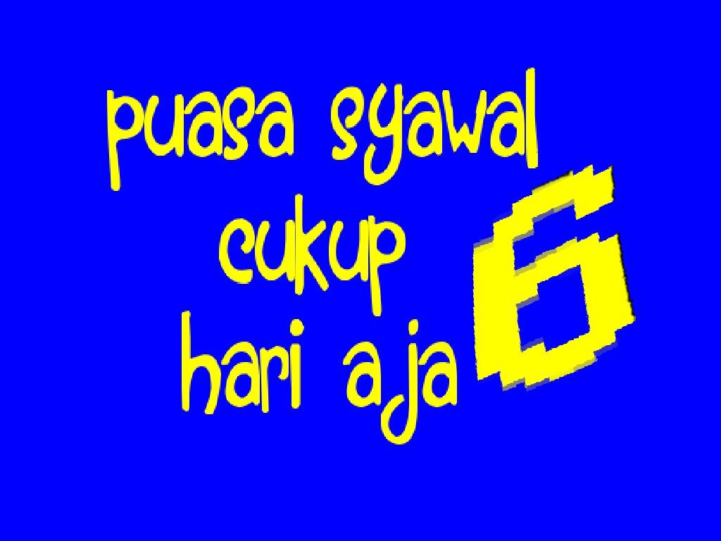 Puasa Syawal (31)