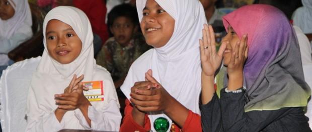 Peserta Festival Anak Sholih LDII Lampung
