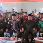 Jajaran pengurus DPD LDII, PC NU dan Pemerintah Kabupaten Lampung Utara