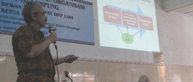 Pentingnya wujud  rukun kompak dan kerjsama yang baik dalam menjalankan roda organisasi oleh Ir Prasetro Sunaryo