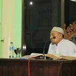 Ustad shobur menyampaikan kajian hadits shohih muslim