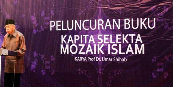 peluncuran buku kapita selekta mozaik islam