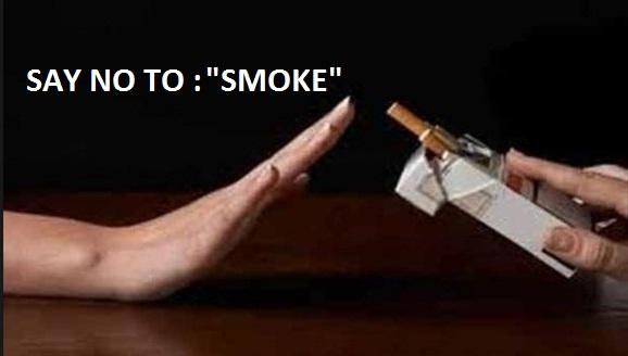 say no to smoke
