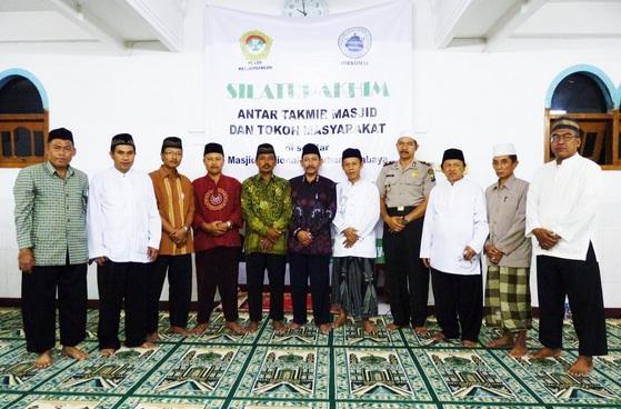 silaturohim antar takmir masjid dan tokoh masyarakat dimasjid LDII