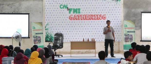 Pemaparan materi karakter pemuda oleh Ridwan Saifudin, ST - Copy