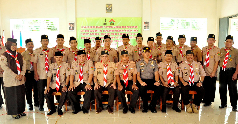 Jajaran Pengurus SAKO SPN Derah Lampung