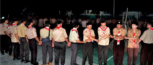 Keeratan Persaudaraan SAKO SPN Daerah Lampung di Perguruan Tri Sukses