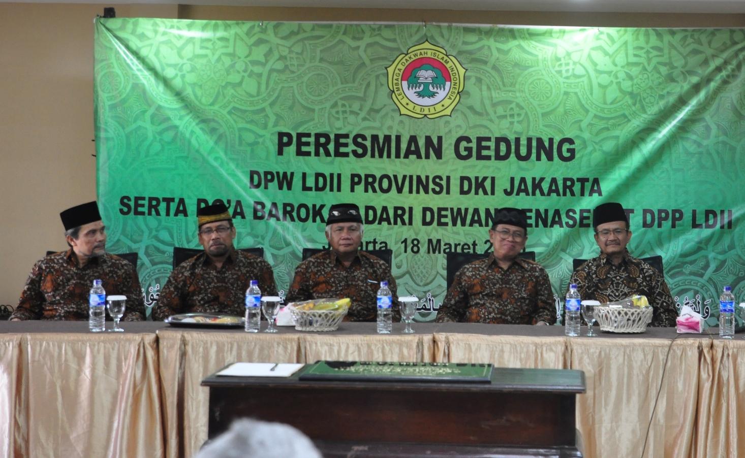 Peresmian Gedung DPW LDII DKI Jakarta