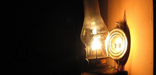 lampu sentir zaman dulu