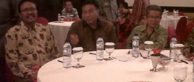 Sekretaris DPW LDII Lampung mengikuti forum penguatan wawasan kebangsaan BNPT