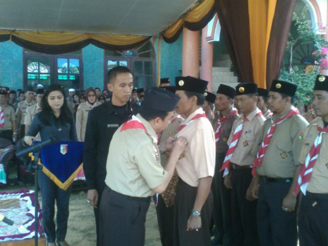 Peresmian SAKO SPN Kabupaten Tulang Bawang Lampung oleh Bupati Hanan Razak