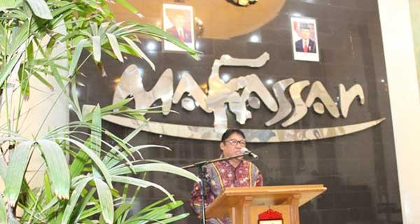 Sambutan Ketua DPW LDII Prov Sulawesi Selatan Hidayat Nahwi Rasul