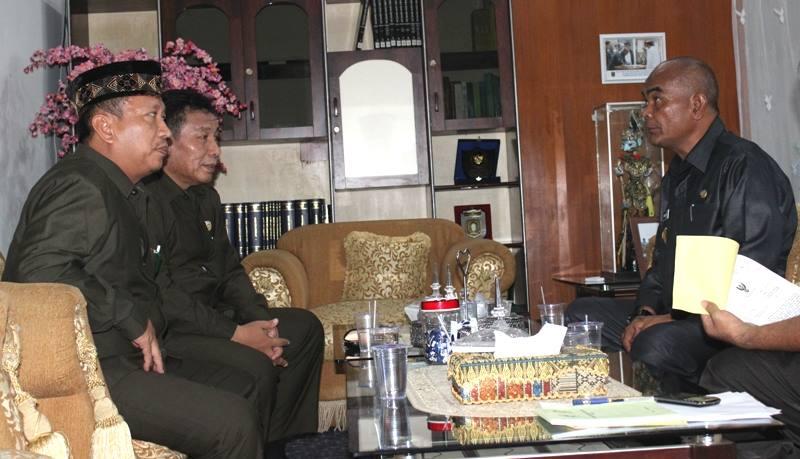 LDII Bersilaturahim dengan Kaban Kesbangpol Provinsi Lampung Irwan S Marpaung