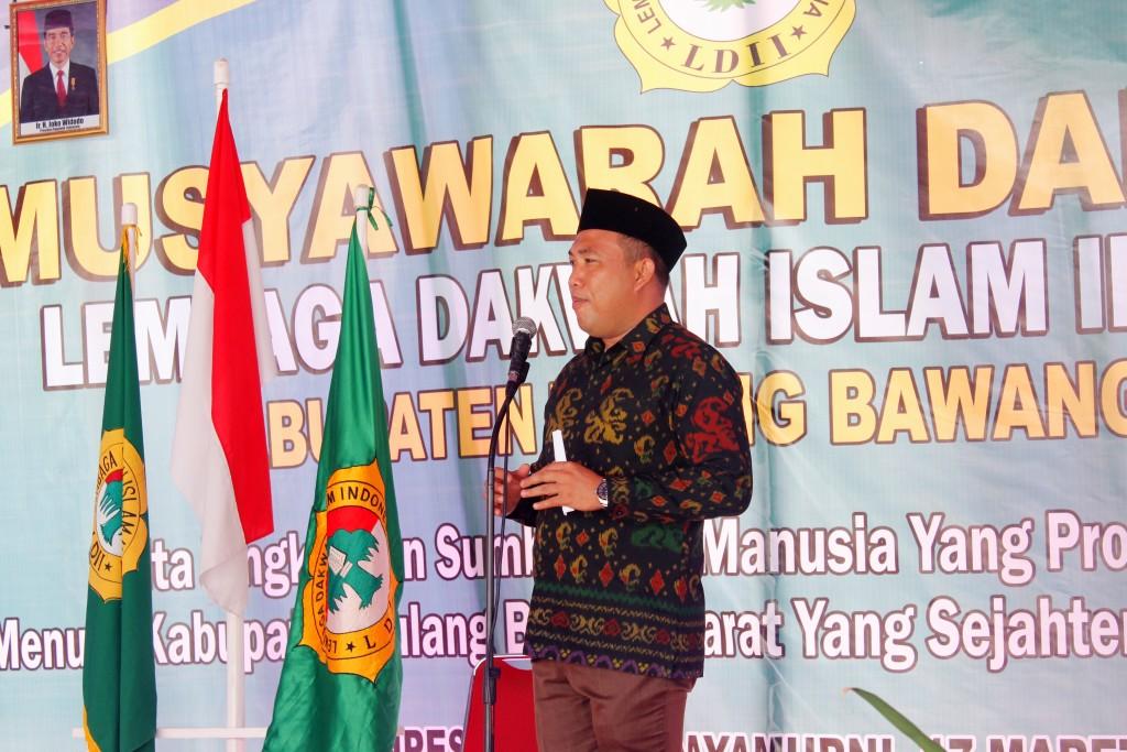 Bupati Tulangbawang Barat (Tubabar) H Umar Ahmad, SP