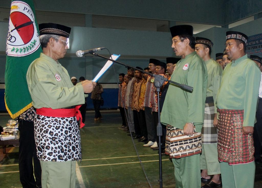 Pelantikan pengurus persinas ASAD Prov Lampung periode 2016-2020