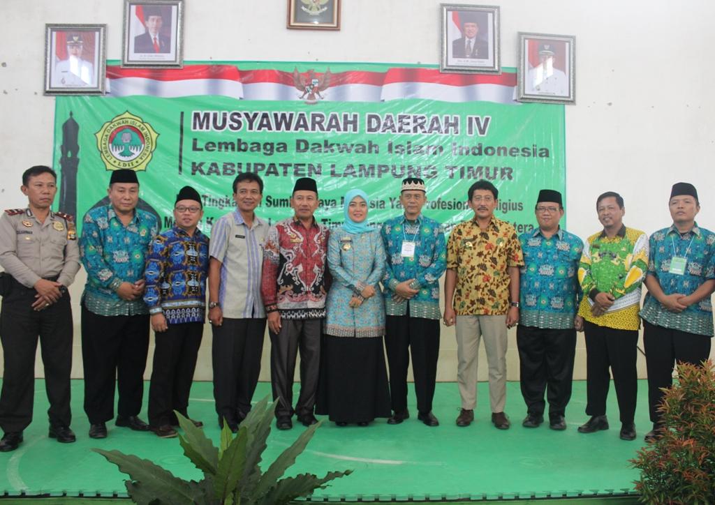 Foto bersama Musda LDII Lampung Timur