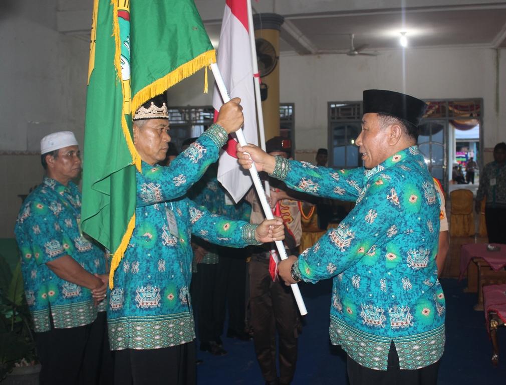 Pelantikan oleh Sekretaris DPW LDII Lampung