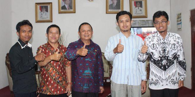 Kadis Kominfo lampung, Pemred MUI Lampung dan Pemred Lines Lampung