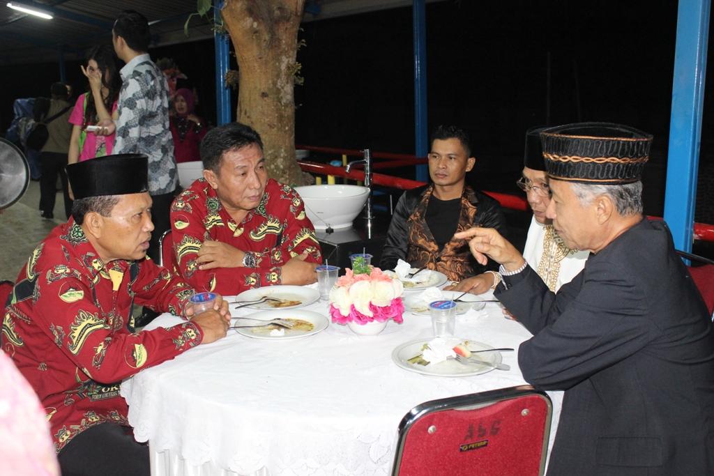 Suasana ruang VIP  Halal Bihalal Lampung Sai