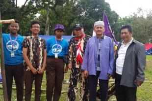Ketua Mabisako SPN Lampung kunjungi kontingen jamnas lampung