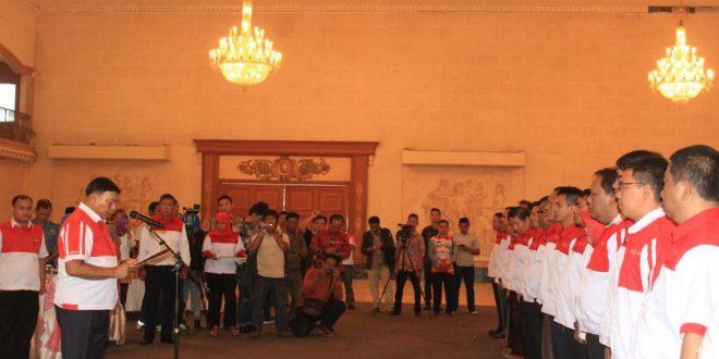 Sjahroedin mengukuhkan kepengurusan DPP Lampung Sai periode 2016-2019