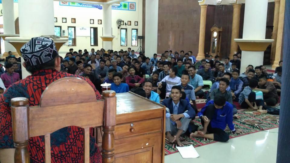 Generus LDII Kab. Tulang Bawang Barat Padati Masjid Umar.