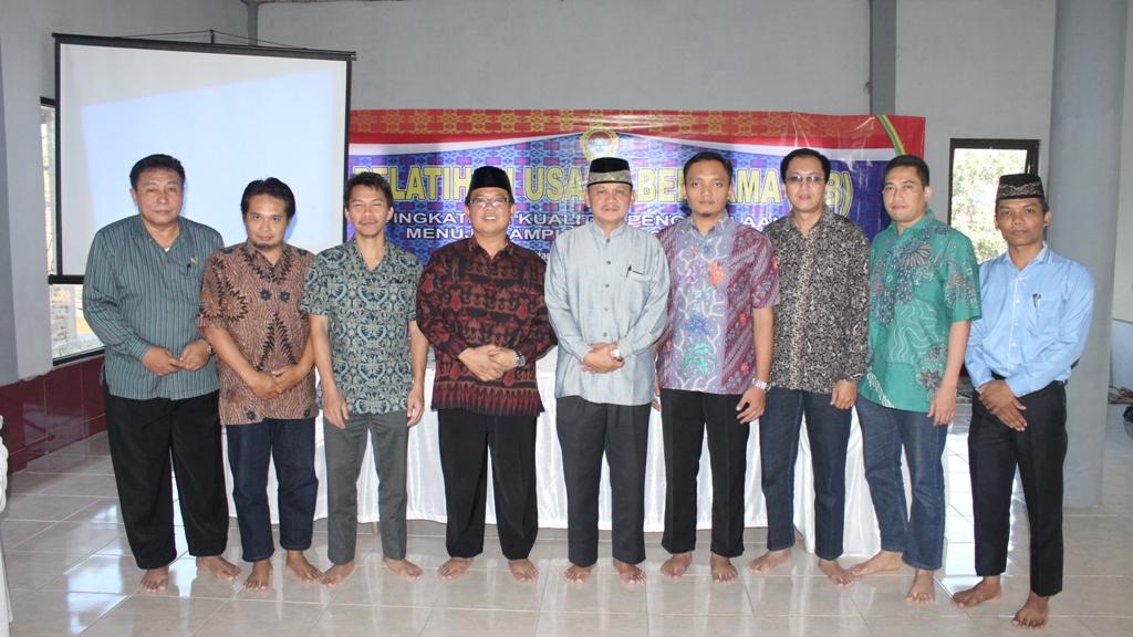tim pokja ub bersama pengurus dpw ldii provinsi lampung