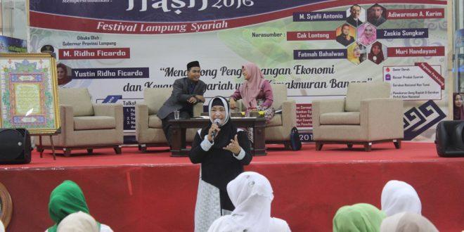 Talkshow FLASH MUI Lampung Bank BI