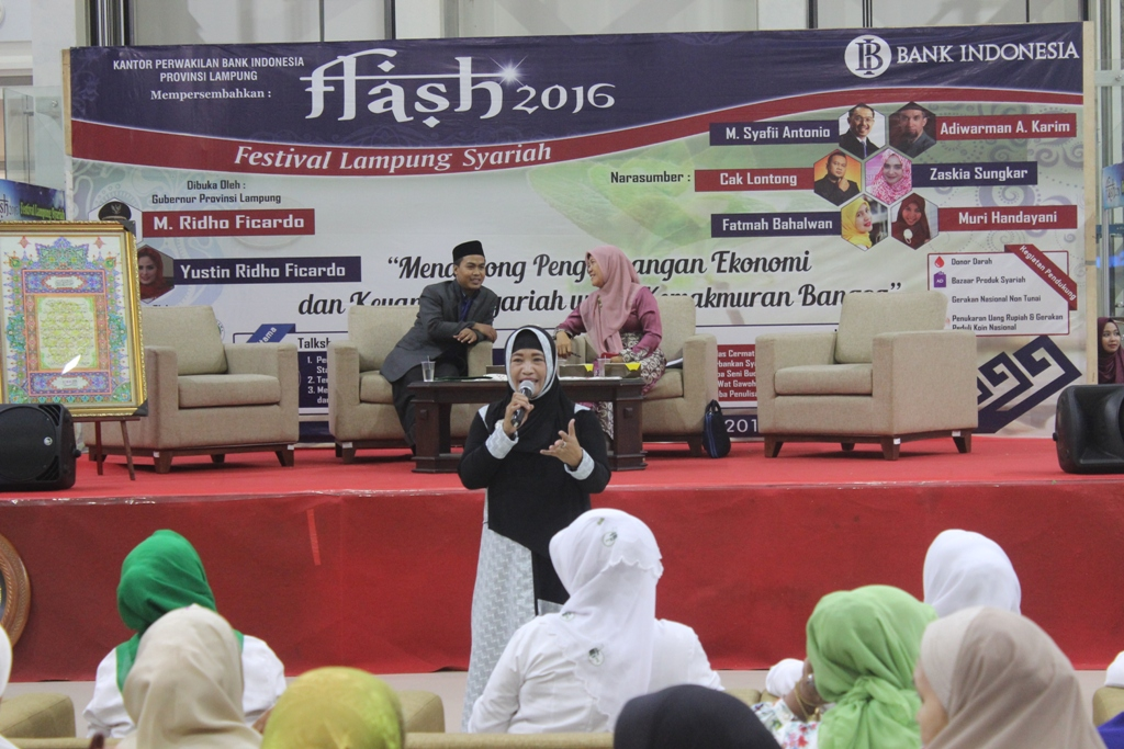 Talkshow FLASH MUI Lampung Bank BI