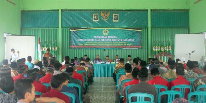 Musda LDII Kabupaten Tanggamus