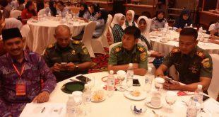 H Ahmad Muslih bersama jajaran TNI
