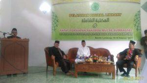 Pelatihan Maktabah Syamilah MUI Lampung