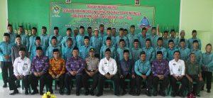 Foto bersama Wakil Bupati bersama jajaran Pengurus LDII Tanggamus