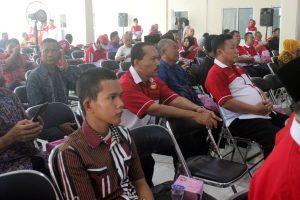 Pengurus LDII turut menghadiri pamitan Oedin
