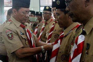 Penymatan Pin oleh Mabicab kepada Pinsakocab Bandar Lampung
