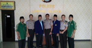 Audiensi LDII dengan Polres Lampung Selatan