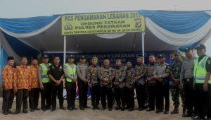 Pengurus LDII Lampung bersama Tim Pospam Lebaran 2017