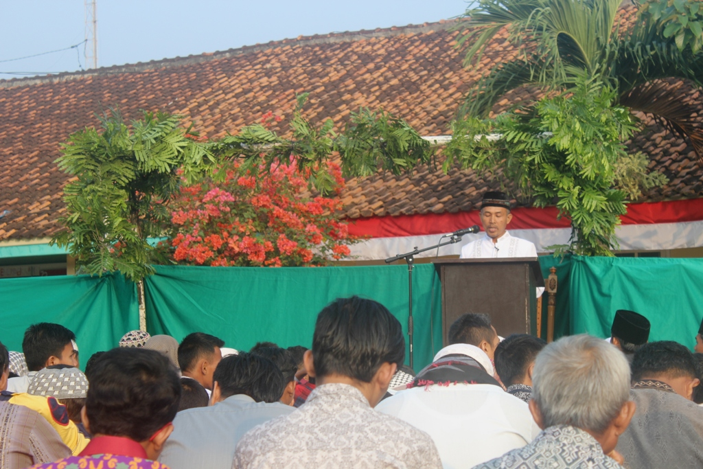 Pelaksanaan Sholat Idul Adha Warga LDII di PAC Pemanggilan.