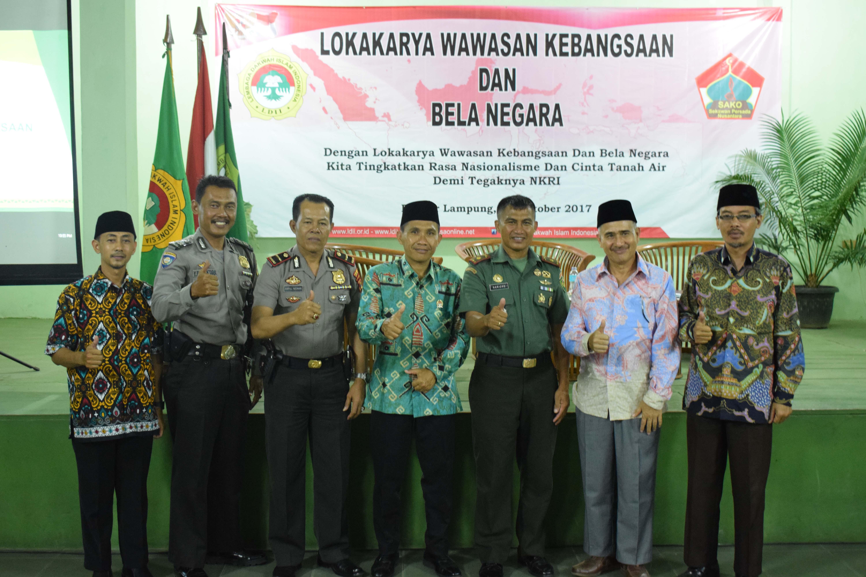 Foto Bersama Pemateri dan Pengurus PC LDII Tanjung Senang